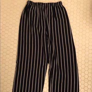 Cute striped Brandy Mellvile pants!
